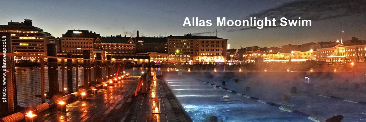 Allas Moonlight Swim