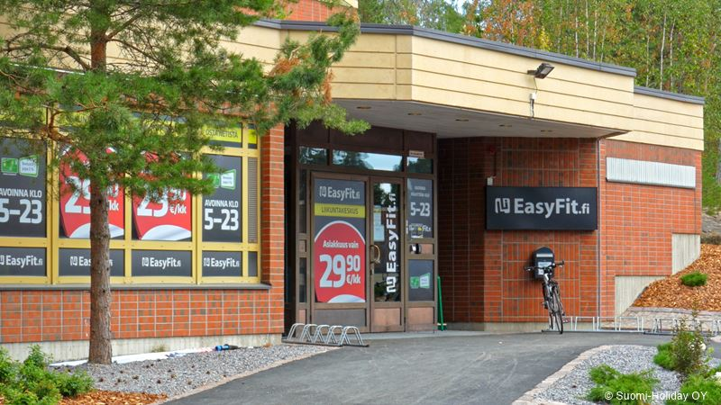 EasyFit gym for rantapuisto guests