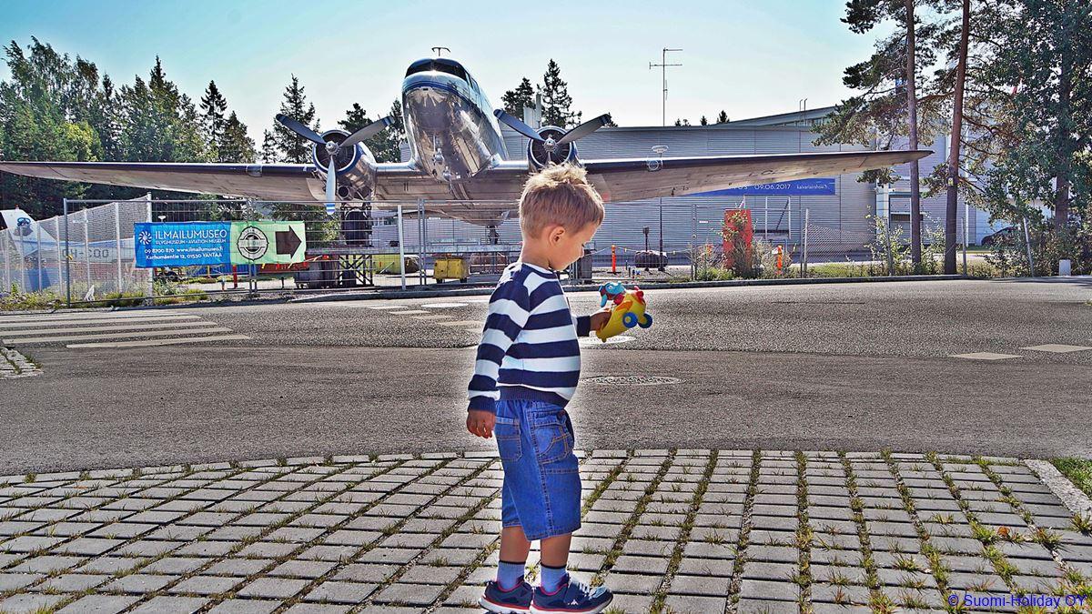 Finnish Aviation Museum Helsinki airport