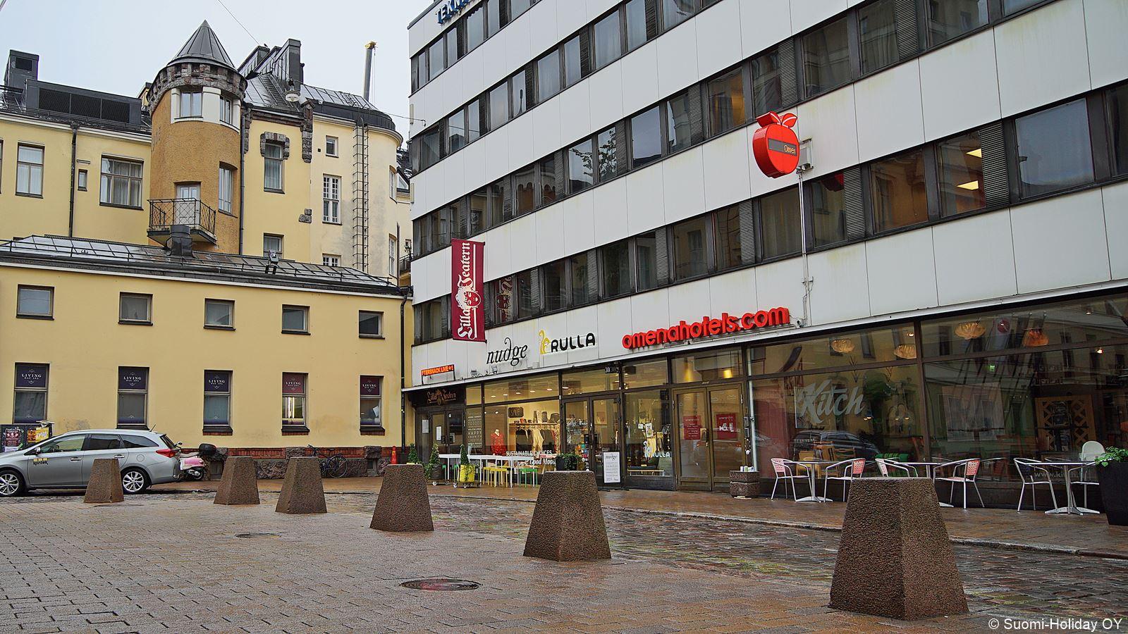 Омена отель Хельсинки неорого