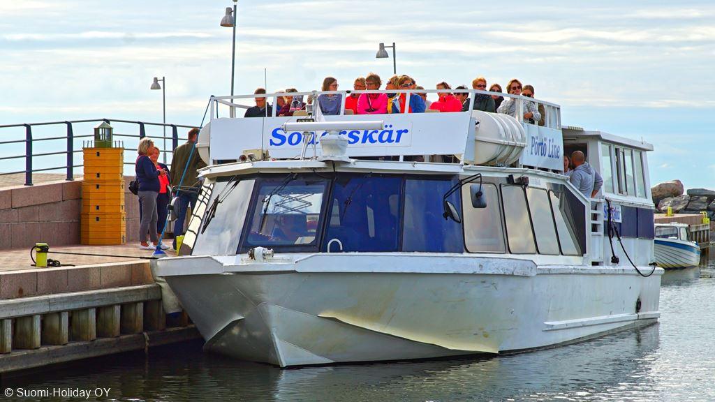 Sea cruise from Rantapuisto to Söderskär